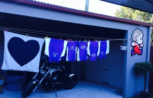 National Stroke Foundation Team Singlets washed and ready to go!